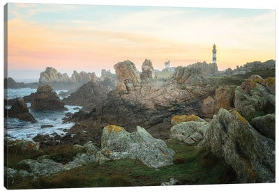 Ouessant Lighthouse Canvas Art Print