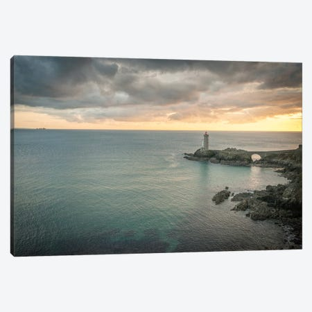 Guardian Of The Ocean Canvas Print #PHM389} by Philippe Manguin Art Print