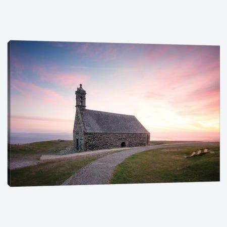 Chapelle Saint Michel De Brasparts In Brittany Canvas Print #PHM38} by Philippe Manguin Canvas Art