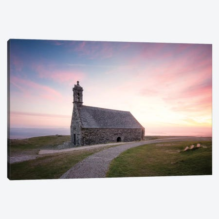 Chapelle Saint Michel De Brasparts In Brittany Canvas Print #PHM38} by Philippe Manguin Canvas Art