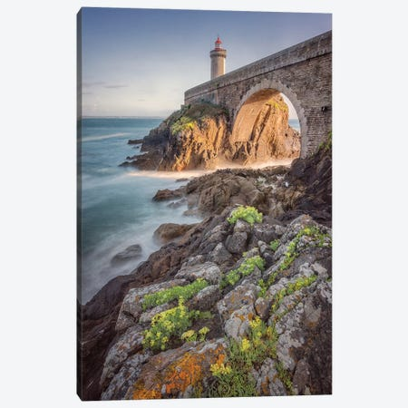 Lighthouse Petit Minou In Brittany Canvas Print #PHM391} by Philippe Manguin Canvas Artwork