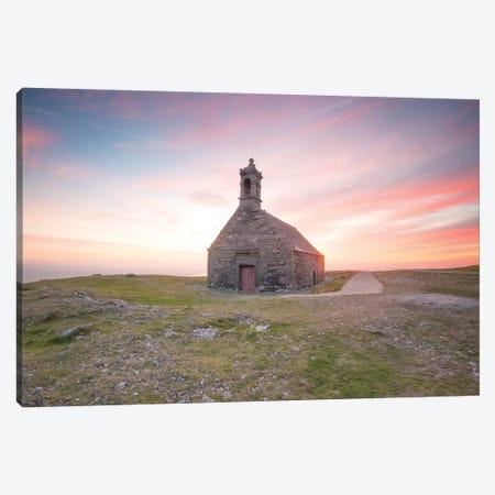 Pink Sunset On Saint Michel De Brasparts Canvas Print #PHM395} by Philippe Manguin Canvas Print
