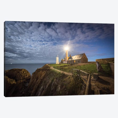 The Lighthouse Under The Sky 3-Piece Canvas #PHM400} by Philippe Manguin Canvas Art