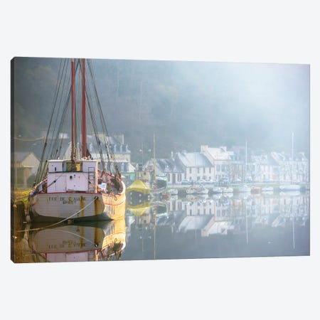 Port Launay Canvas Print #PHM406} by Philippe Manguin Canvas Art Print