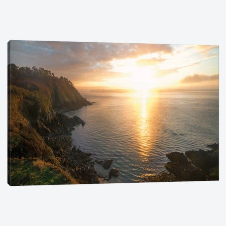 Rade de Brest Entering In Brittany Canvas Print #PHM421} by Philippe Manguin Canvas Art