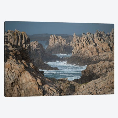 Ouessant Rocks Canvas Print #PHM425} by Philippe Manguin Canvas Art Print