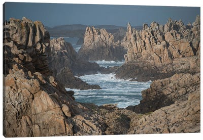 Ouessant Rocks Canvas Art Print