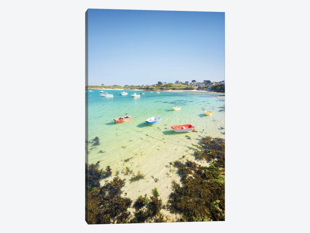 Clear Water In Brittany by Philippe Manguin 1-piece Canvas Art