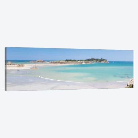 Saint Jacut De La Mer Panoramic Canvas Print #PHM433} by Philippe Manguin Art Print