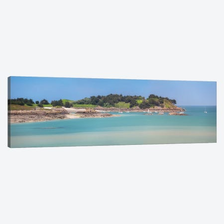 Saint Jacut De La Mer, Île Des Ebihens Canvas Print #PHM437} by Philippe Manguin Canvas Artwork