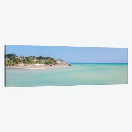 Saint Jacut De La Mer, Panoramic Canvas Print #PHM438} by Philippe Manguin Canvas Print