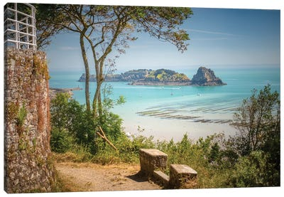 Cancale Bay In Brittany Canvas Art Print