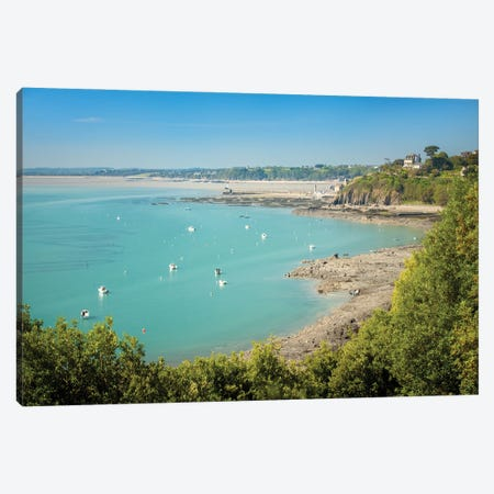 Cancale In Brittany Canvas Print #PHM443} by Philippe Manguin Canvas Wall Art