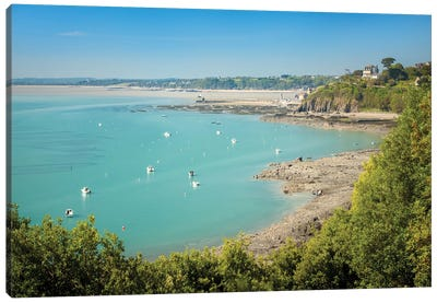 Cancale In Brittany Canvas Art Print