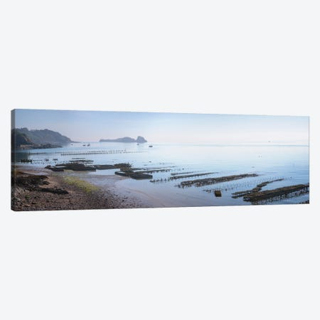 Cancale Oyster Parks Canvas Print #PHM444} by Philippe Manguin Art Print