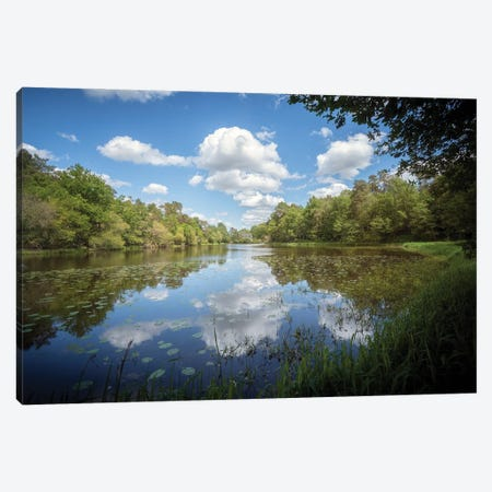 The Lake Canvas Print #PHM448} by Philippe Manguin Canvas Wall Art