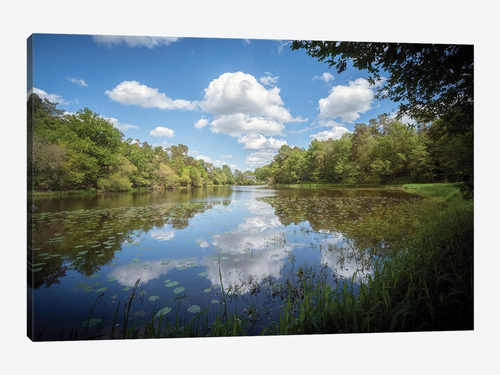 The Lake by Philippe Manguin 1-piece Canvas Wall Art