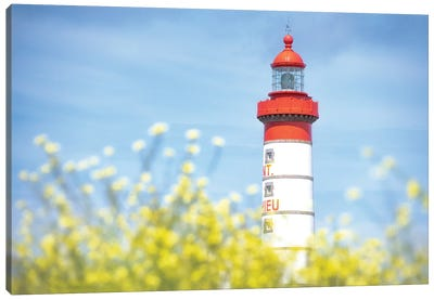 The Saint Mathieu Lighthouse Canvas Art Print