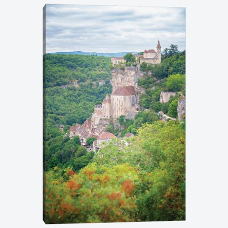 Rocamadour French Old Medieval City Canvas Print #PHM453} by Philippe Manguin Canvas Print