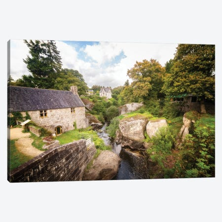 Huelgoat City Old Mill Canvas Print #PHM455} by Philippe Manguin Canvas Art