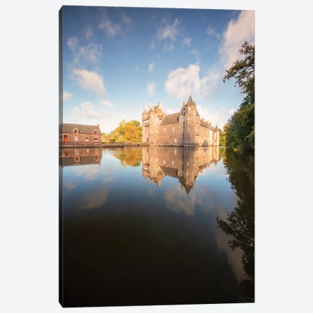 The Ancient Castle Canvas Print #PHM460} by Philippe Manguin Canvas Wall Art