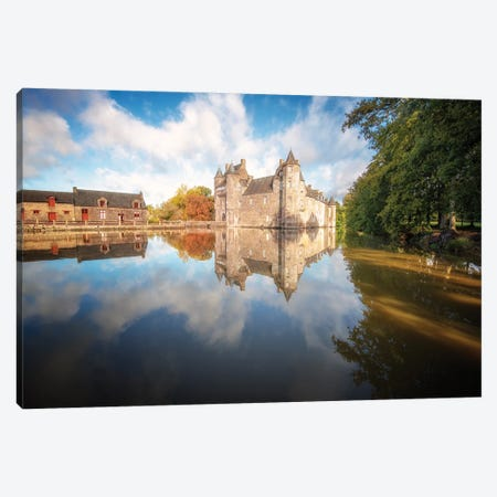 The Old Medieval Castle Canvas Print #PHM461} by Philippe Manguin Canvas Wall Art