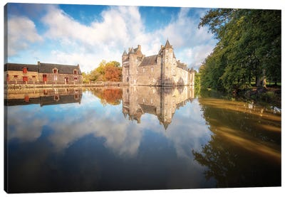 The Old Medieval Castle Canvas Art Print