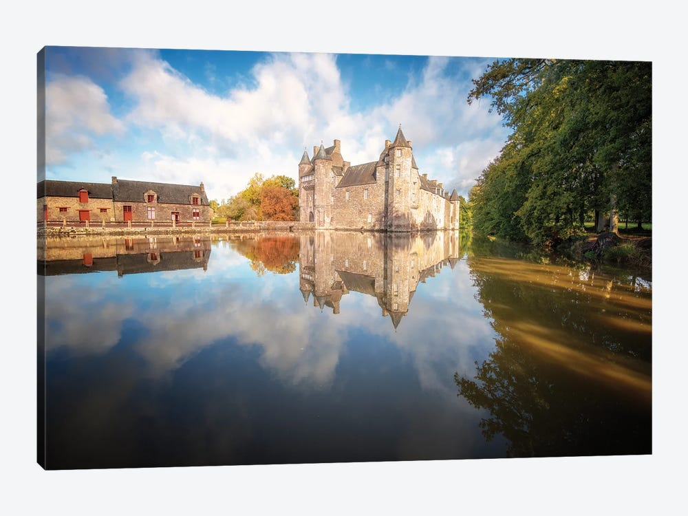 The Old Medieval Castle by Philippe Manguin 1-piece Art Print