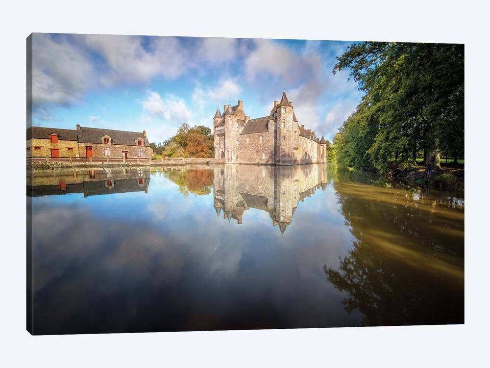 The Old Castle by Philippe Manguin 1-piece Canvas Print