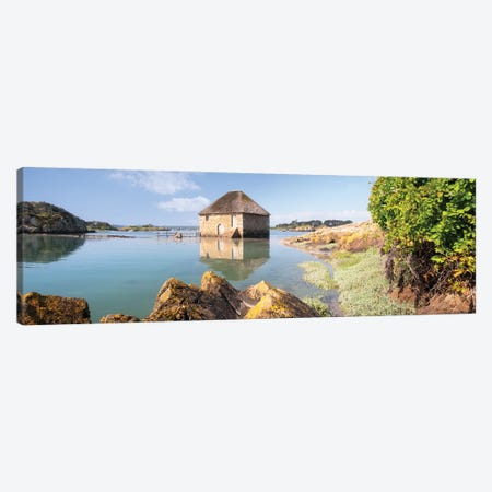 Old Sea Mill Of Brehat Island In Brittany Canvas Print #PHM473} by Philippe Manguin Canvas Print