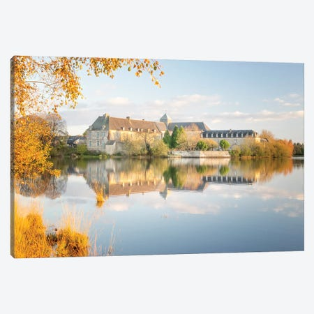 The Abbaye Canvas Print #PHM478} by Philippe Manguin Canvas Print