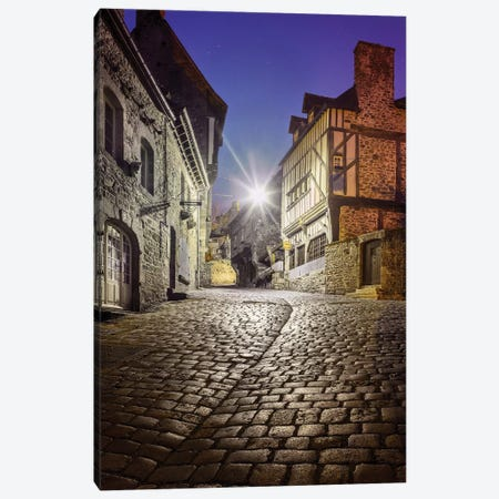 Dinan , Jerzual Street II Canvas Print #PHM47} by Philippe Manguin Canvas Art
