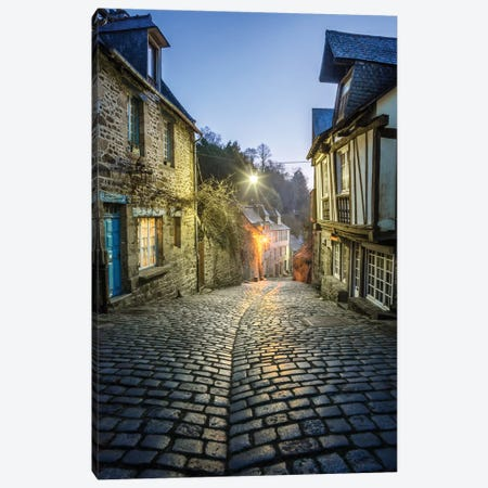 Dinan, Jerzual Street III Canvas Print #PHM49} by Philippe Manguin Canvas Art Print