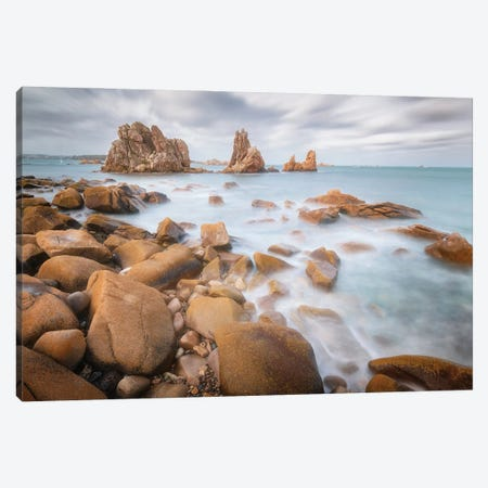 The Floating Rocks Canvas Print #PHM501} by Philippe Manguin Canvas Art Print