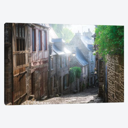 Dinan, Jerzual Street Canvas Print #PHM51} by Philippe Manguin Canvas Art
