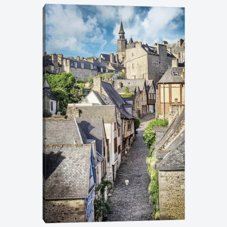 Dinan, The Famous Jerzual Street Canvas Print #PHM52} by Philippe Manguin Canvas Artwork