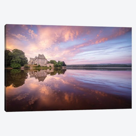 Abbaye De Paimpont In Broceliande II Canvas Print #PHM5} by Philippe Manguin Canvas Artwork