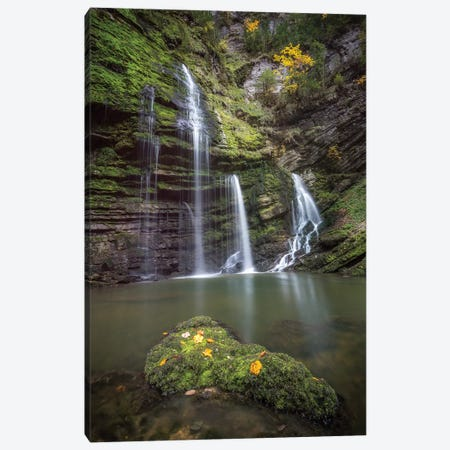 Flumen Waterfall Canvas Print #PHM77} by Philippe Manguin Canvas Print