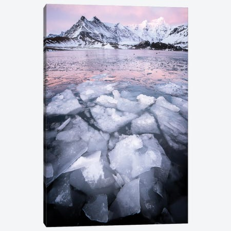 Ice Land Canvas Print #PHM97} by Philippe Manguin Canvas Print