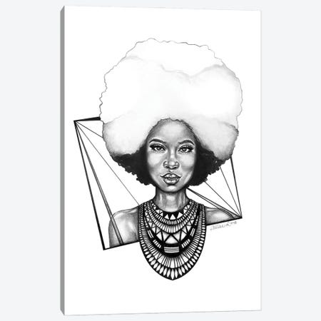 Fro Love Canvas Print #PHR13} by Philece Roberts Art Print