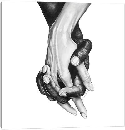 Never Let Go Series I Canvas Art Print