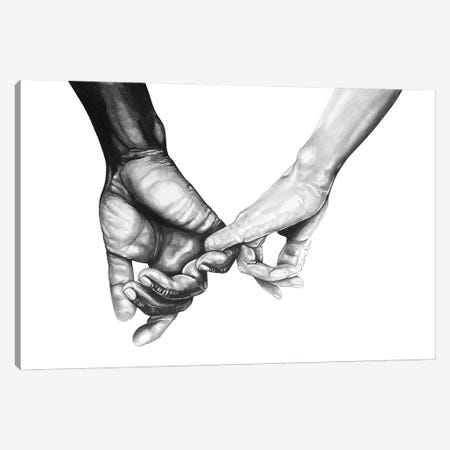 Never Let Go Series II Canvas Print #PHR17} by Philece Roberts Canvas Wall Art