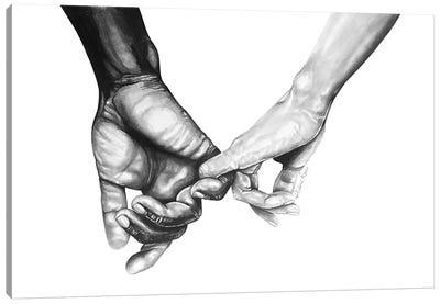 Never Let Go Series II Canvas Art Print