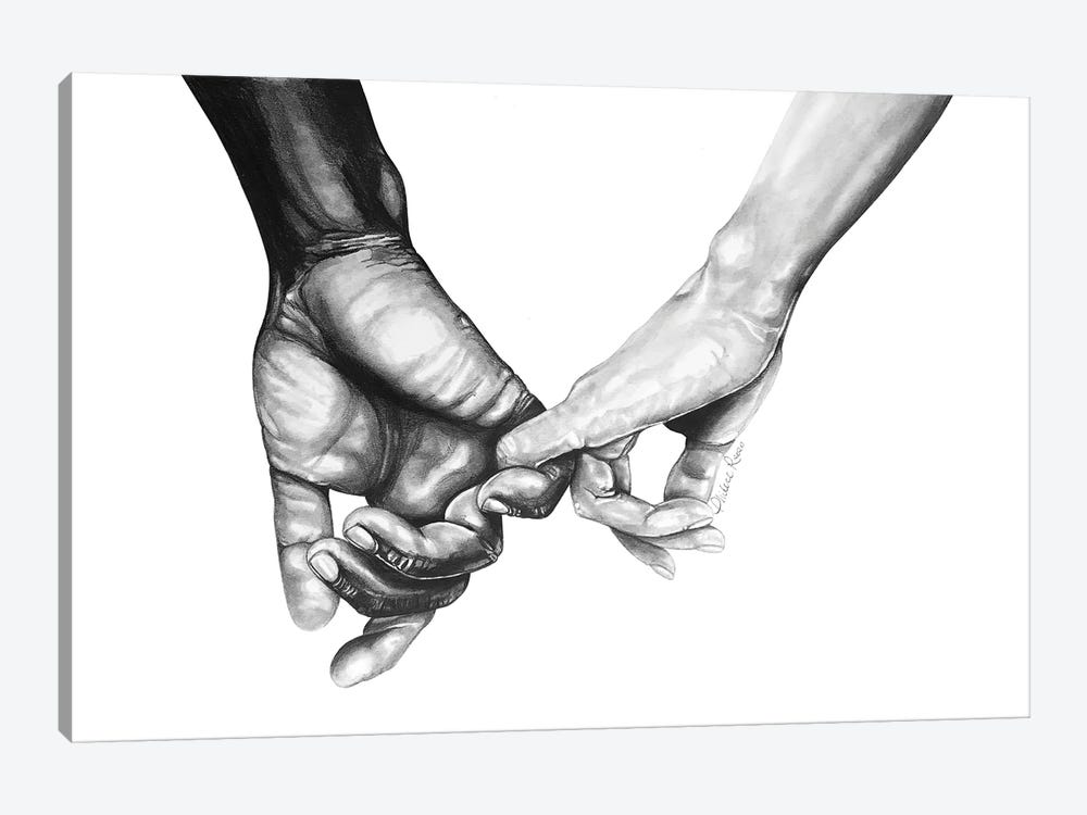 Never Let Go Series II by Philece Roberts 1-piece Canvas Print