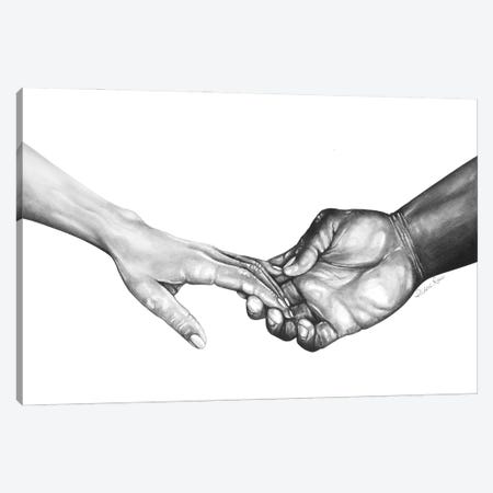 Never Let Go Series III Canvas Print #PHR18} by Philece Roberts Art Print