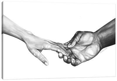 Never Let Go Series III Canvas Art Print