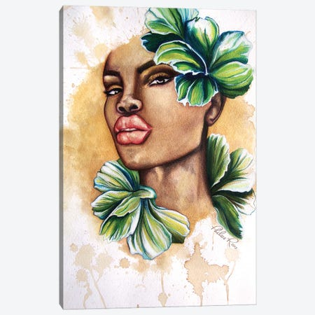 She Bloomed Canvas Print #PHR23} by Philece Roberts Canvas Artwork