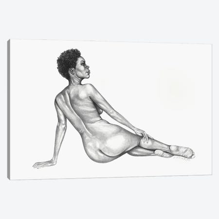 Figure Study I Canvas Print #PHR7} by Philece Roberts Canvas Wall Art