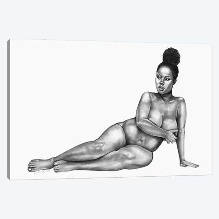 Figure Study II Canvas Print #PHR8} by Philece Roberts Art Print