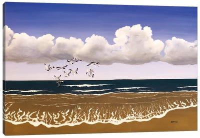 Carolina Shore Canvas Art Print